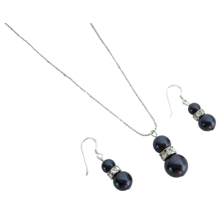 Looking for Splendid Jewelry Dark Purple Pearls Jewelry