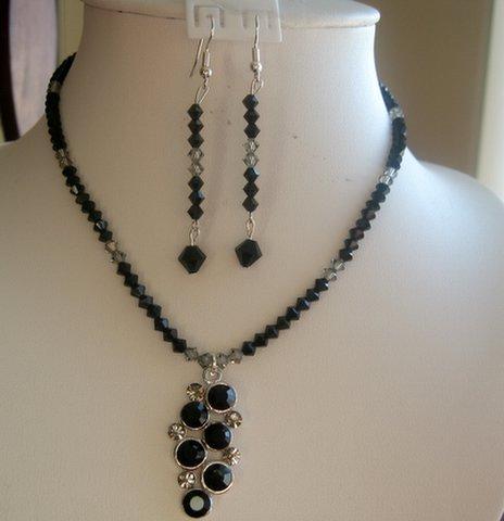 diamond pendant sets. grape Pendant Necklace Set