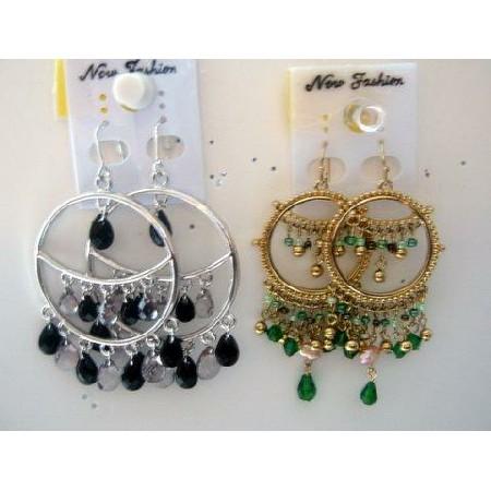 Fabulous & Stunning Chandelier Cascade Earrings