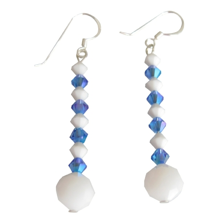 dangle handcrafted for dew earrings market women sparkling blue unique contemporary unicef siver and jewelry sterling topaz