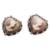 Fine Cameo Earrings For Your Mother Sparkling Crystals Cameo Earrings :  cameo earrings cameo crystals gift crystal