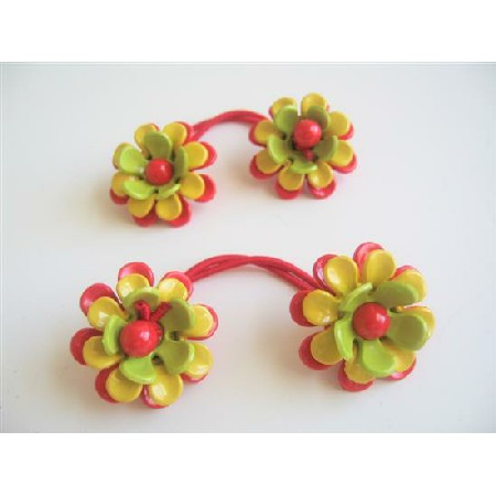 Flower Hair Rubber Band