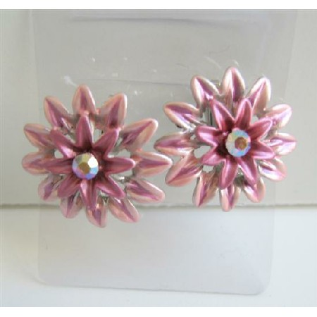 Beautiful Flower Hair Clip Sophisticate Girls Hair Accessory