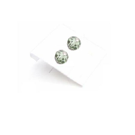 Emerald Stud Earrings Girls Crystals Under $3 Stud Earrings