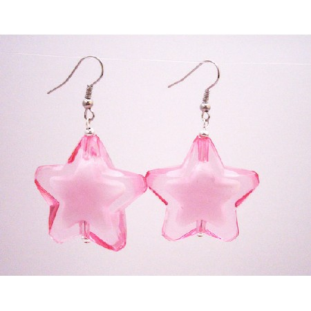 Party Wear Jewelry Stunning Star Jewelry Rose Star Earrings