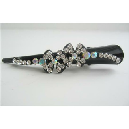 Beautiful Hair Clamp Clip Floral Hair Clamp Clip
