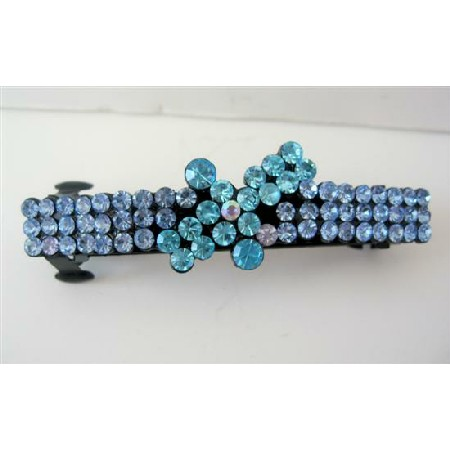 Sophisticated Sparkling Crystals Hair Clip