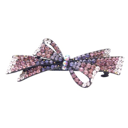 Victorian Style Amethyst Hair Barrette At Very Affordable Price