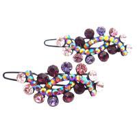 Wedding Hair Barrette Style Amethyst Hair Clip :  wedding clip hair style wedding barrette hair clip