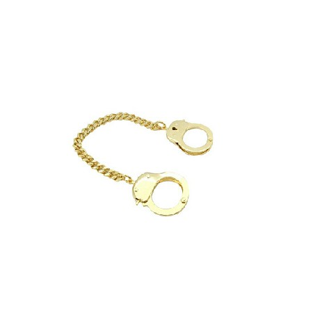 Handcuff Bracelet Striking Gold Bracelet Thick Chained Hand Cuff