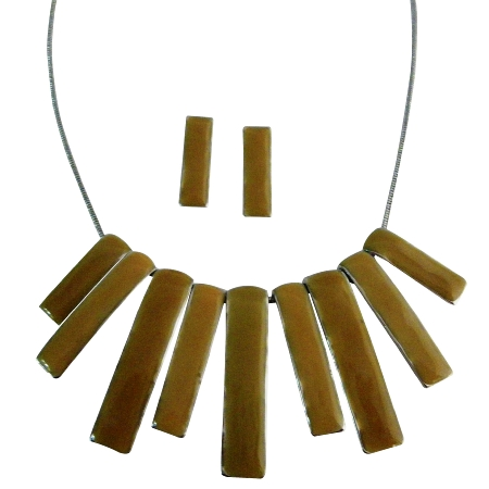 Painted Beads Rectangular Shaped Multi Beads Drop Down Beads Jewelry from fashionjewelryforeveryone.com