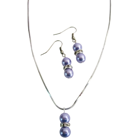 Personalized Your Own Wedding In Your Color Beautiful Lilac Jewelry