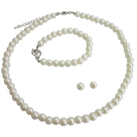 Bridal Jewelry Customize Bridal Jewelry In Ivory Pearls