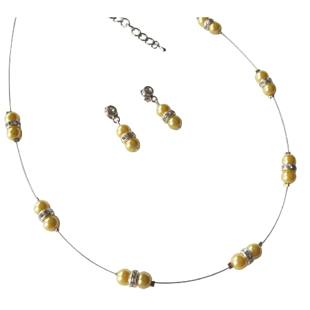 The Pretty Yellow Pearl Jewelry Birthday Or Anniversary Gift