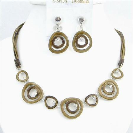 Multi Rings Jewelry Beautifully Designed Artist Brown Jewelry