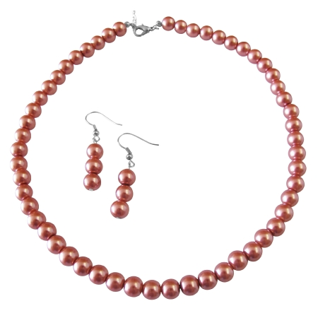 Fashion Jewelry For Everyone Wedding Pearls Brick Pearls Jewelry Set