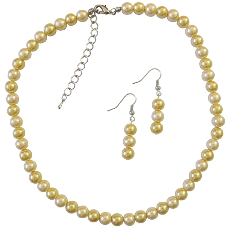Shop Cheap Jewelry Inexpensive Wedding Pearls Daffodill Necklace Set