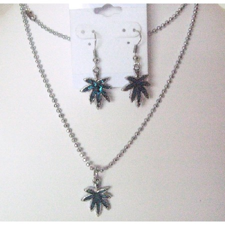 Abalone Shell Pendant Affordable Unbeaten Gifts Necklace Set