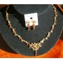 Sleek & Danty Gold Plate Necklace Set