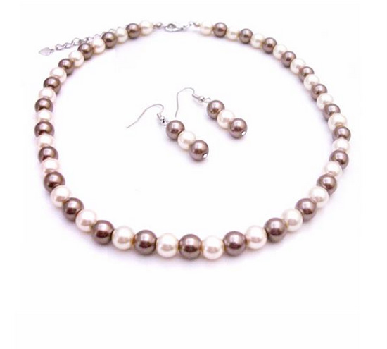 Dashing Pearls Collection For All Fashion Jewelry Bronze Ivory Pearls