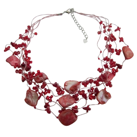beads red to pearl make how watch beaded necklace art jewelry for diy making youtube