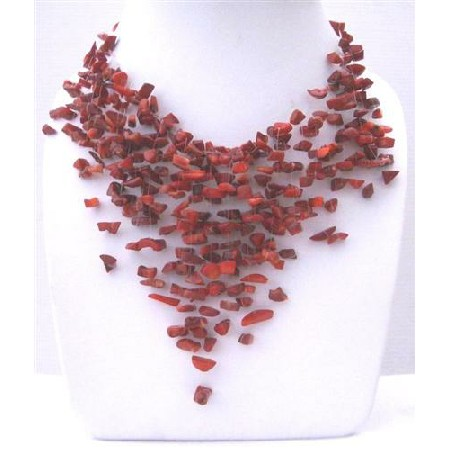 turquoise semi necklaces carnelian handcrafted chip necklace vogue precious and fashion shop