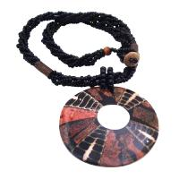Shell Pendant Is Complemented With Elegant Very Ethnic Pendant Necklace  Perfect Gift