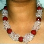 Carnelian Stone Necklace 17 Inches