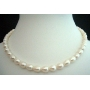 White Freshwater Pearl Necklaces 16 inches Choker