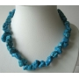 Genuine Natural Turquoise Nugget Necklace