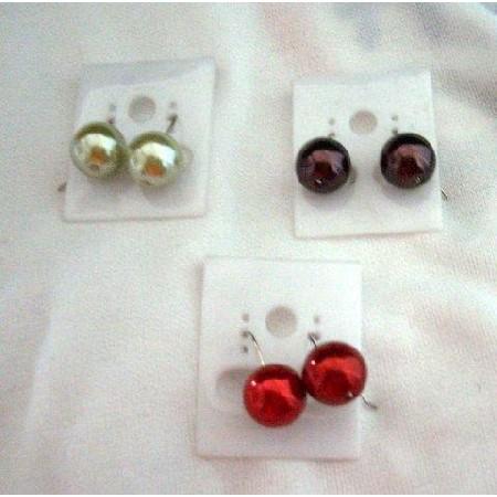 Fancy Cultured Pearls Fashion Earrings