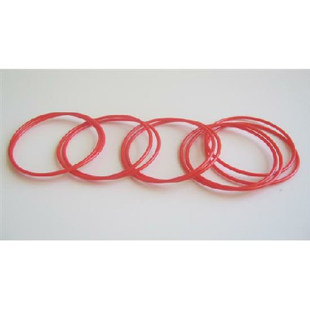 Red Bangles Set Of 10 Bangles Girls Bangles