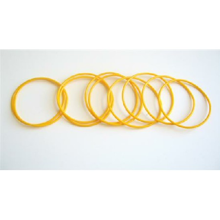 Elegant Bracelet Cool Summer Yellow 10 Bangles For $1
