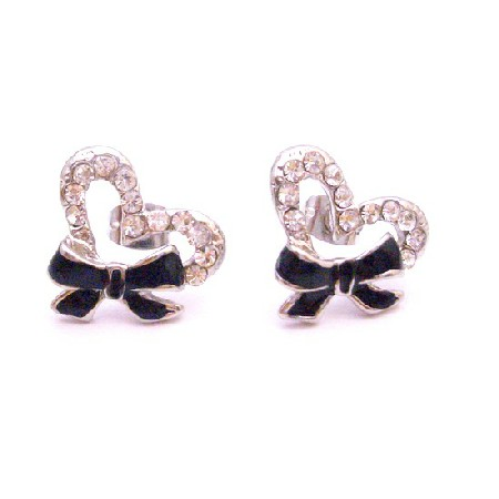 Looking For Affordable Christmas Gift Sparkling Bow Diamante Jewelry