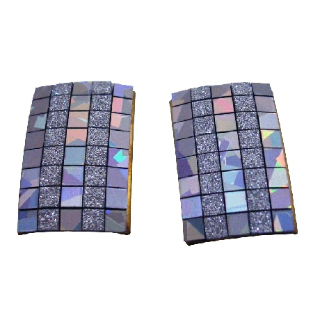 Stylish Earrings AB Sparkling Rectangular Earrings