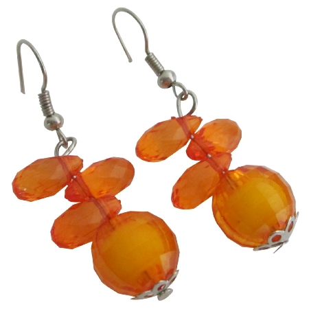 Sale Exclusive Selection Of Little Girls Jewelry In Orange Color