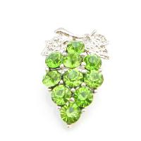 Tree Brooch Pin Peridot Crystals Tree Brooch Pin :  gift broochlovely broochbeautiful crystals brooch pin