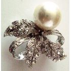Fabulous Adorable Reasonable Holiday Gift Great Price For Chrishmas Gift Diamante Brooch
