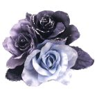 Fabric Flowers Brooches For Bridesmaids Dresses & For Hair