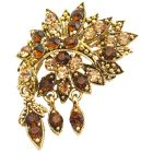 Artisically Designed Vintage Brooch Scarf Jacket Brooch