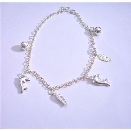 Jinlgle Bracelets Sterling Silver 92.5 Dangling Bracelet