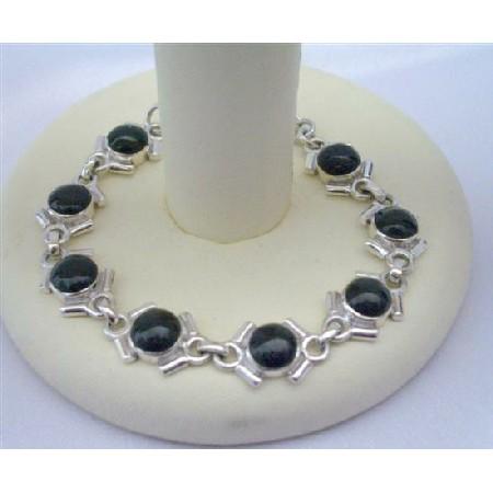 OnyxStone Sterling Silver 92.5 Bracelet