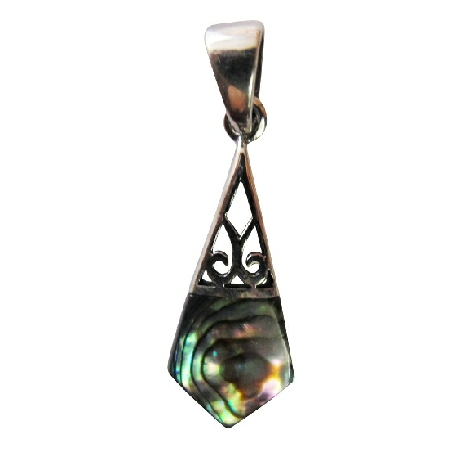 Abalone Shell Sterling Silver 925 Affordable Gift
