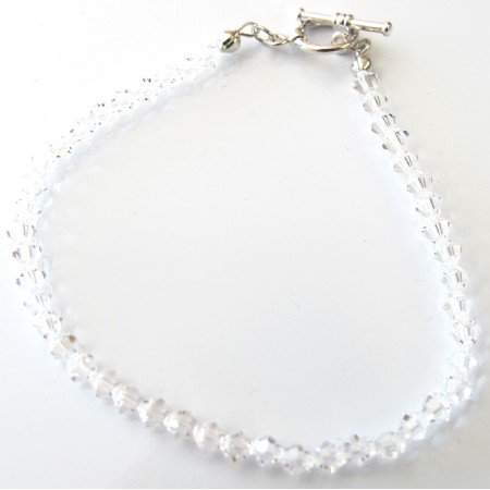 Wedding Bridal Clear Crystals Bracelet Crystals Bracelet