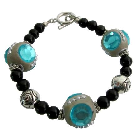 Handmade Bead Bracelet Holiday Gift Bracelet