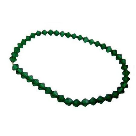 Tahitan Green Crystals Jewelry Tahitan Crystals Bracelet