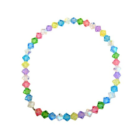 Multi Crystals Stretchable Bracelet