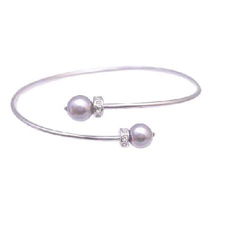 Purple Mauve Pearls Jewelry Affordable Mauve Pearls Rondells