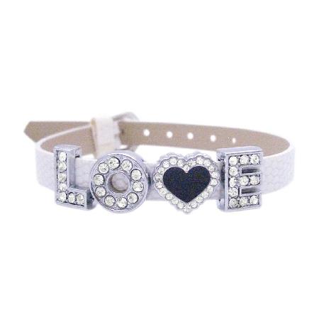 Love Jewelry Girlfriend Gift Valentine Gift Watch Strap w/ Love Word