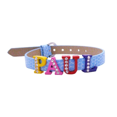 customize bracelet w your name on watch strap bracelet
